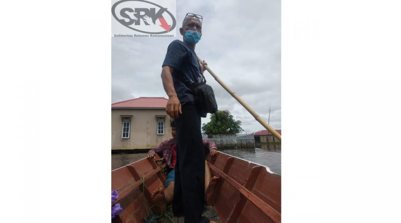 Intervensi SRK Kala Bencana Banjir di Kalimantan Selatan